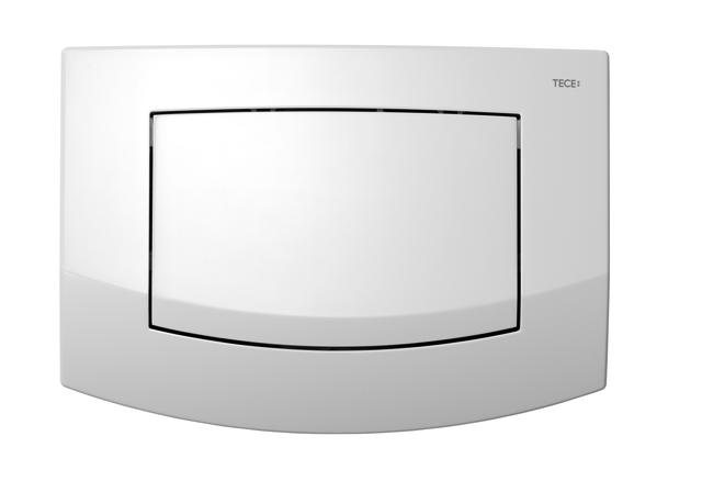 TECE Ambia WC Betätigungsplatte für Einmengentechnik weiß 9240100